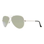 Ray-Ban RB3025 Iconic Aviator Sunglasses , Silver