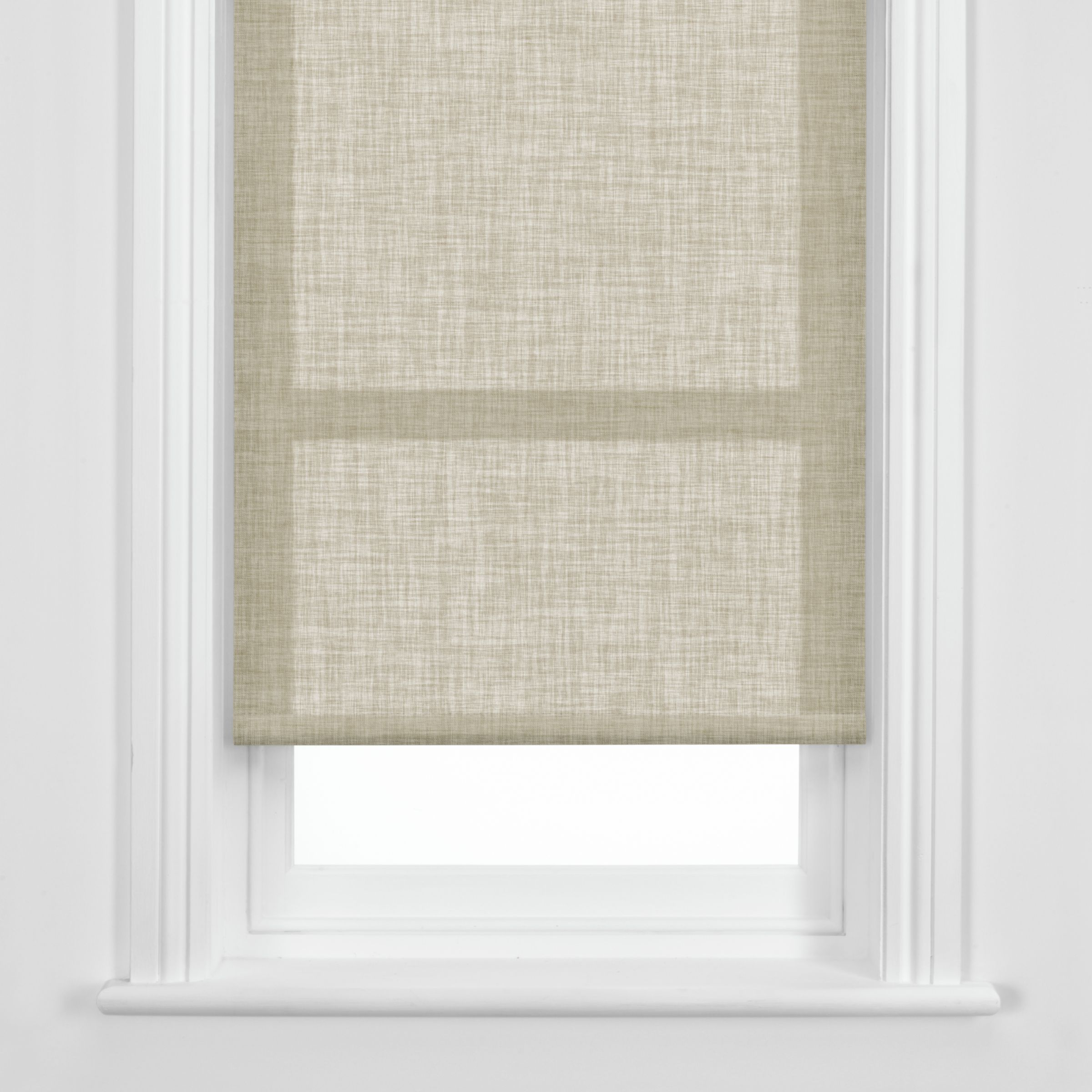John Lewis Linen Roller Blinds Natural Review Compare