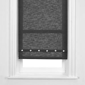 John Lewis Brompton Roller Blind, Granite, W91cm