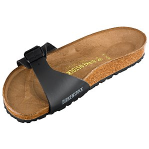 Madrid Sandals, Black, 7/40
