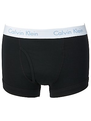Calvin Klein Flexible Fit Trunks, Black, Small product image