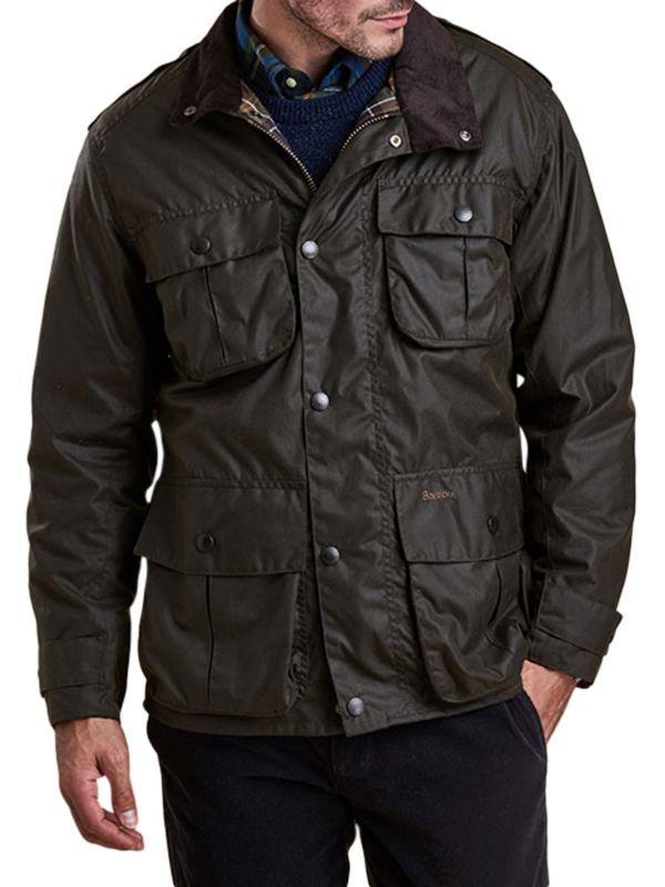 Barbour Trooper Wax Jacket, Olive
