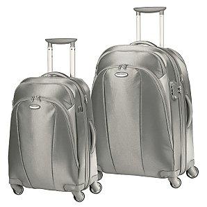 Samsonite Xion 2 Trolley Case, Silver, Large