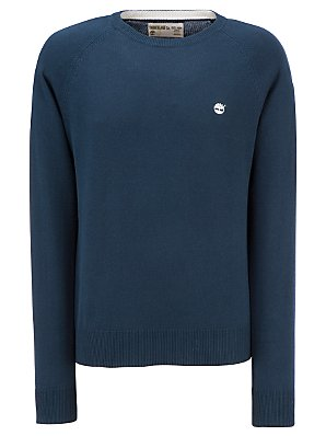 Timberland Fine Gauge Jumper, Navy, Large
