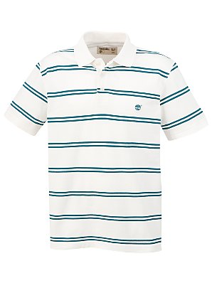 Timberland Eclectic Stripe Shirt, Green/White, Medium