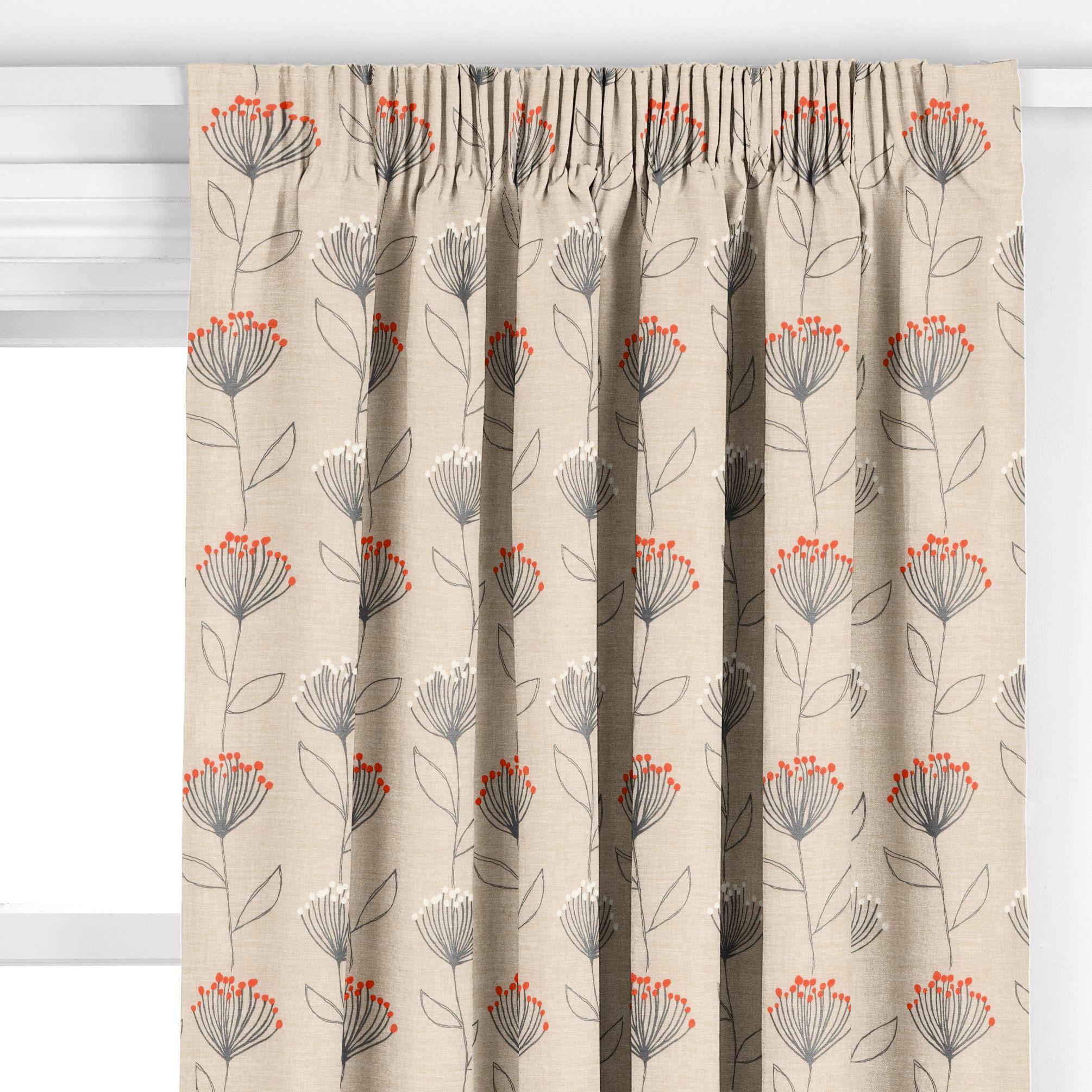 John lewis banksia pencil pleat curtains flame review for Pencil pleat curtains on track