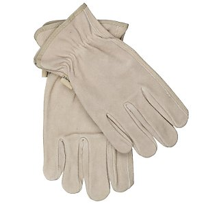 John Lewis Washable Leather Gloves, Medium
