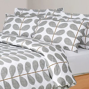 Orla Kiely Scribble Stem Duvet Cover White Review