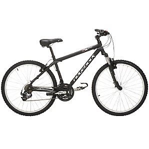 MX200 Mens Mountain Bike, Black,