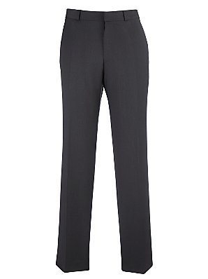 John Lewis Travel Suit Trousers Charcoal 38S