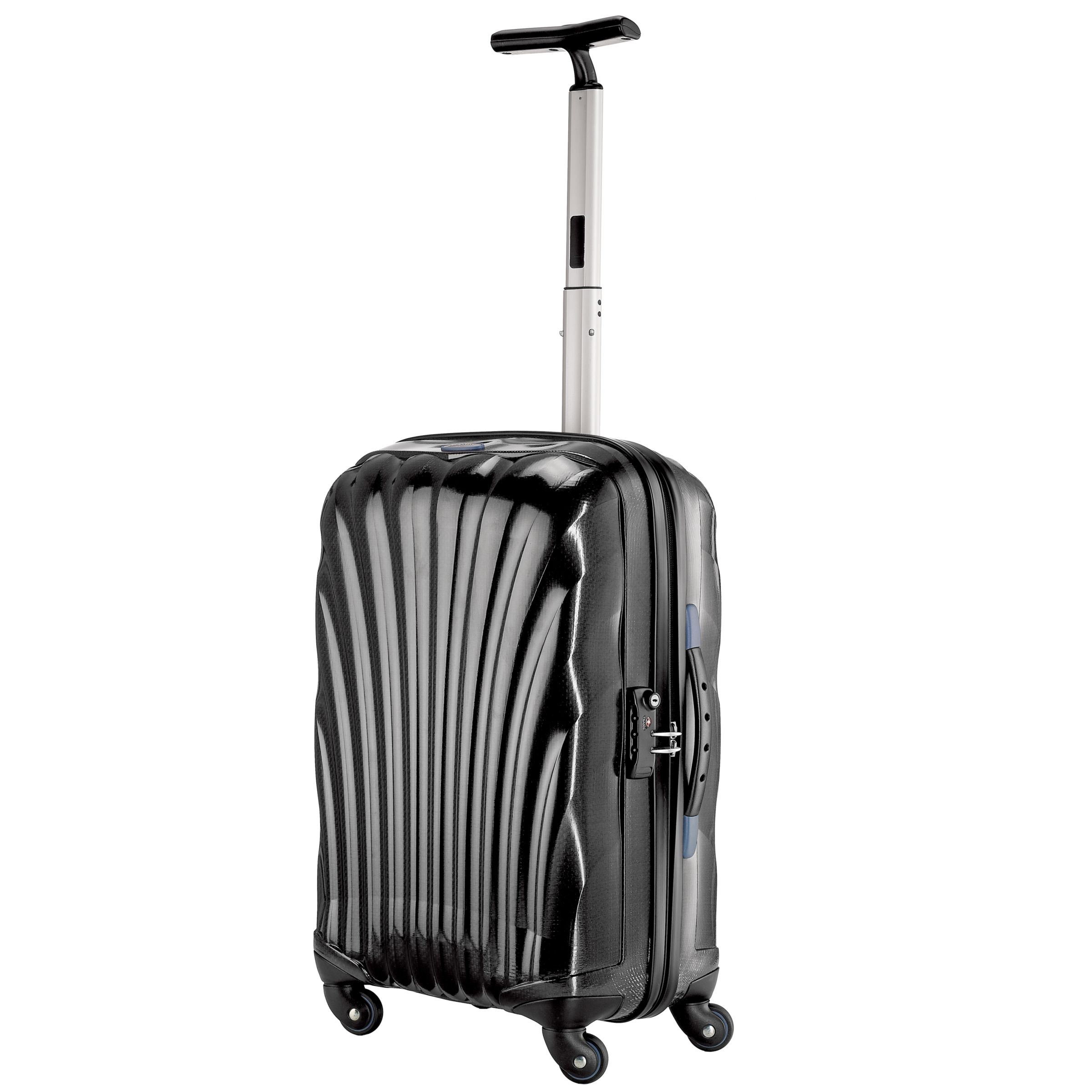 Samsonite Cosmolite Spinner 4-Wheel Suitcase, Black, Cabin