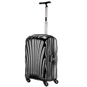 Samsonite Cosmolite Spinner Trolley Case, Black, Cabin