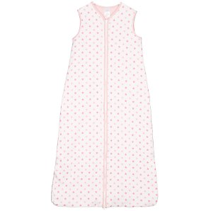 John Lewis Baby John Lewis Girl Star Sleeping Bag, Pink, 2.5