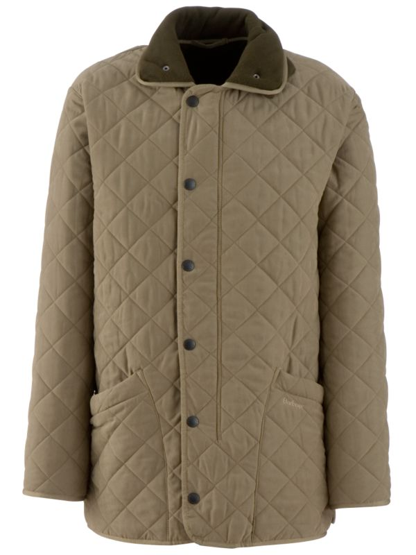 Barbour Microfibre Quilted Jacket, Olive