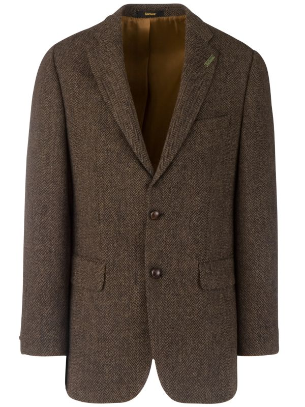 Barbour Classic Tweed Jacket, Brown