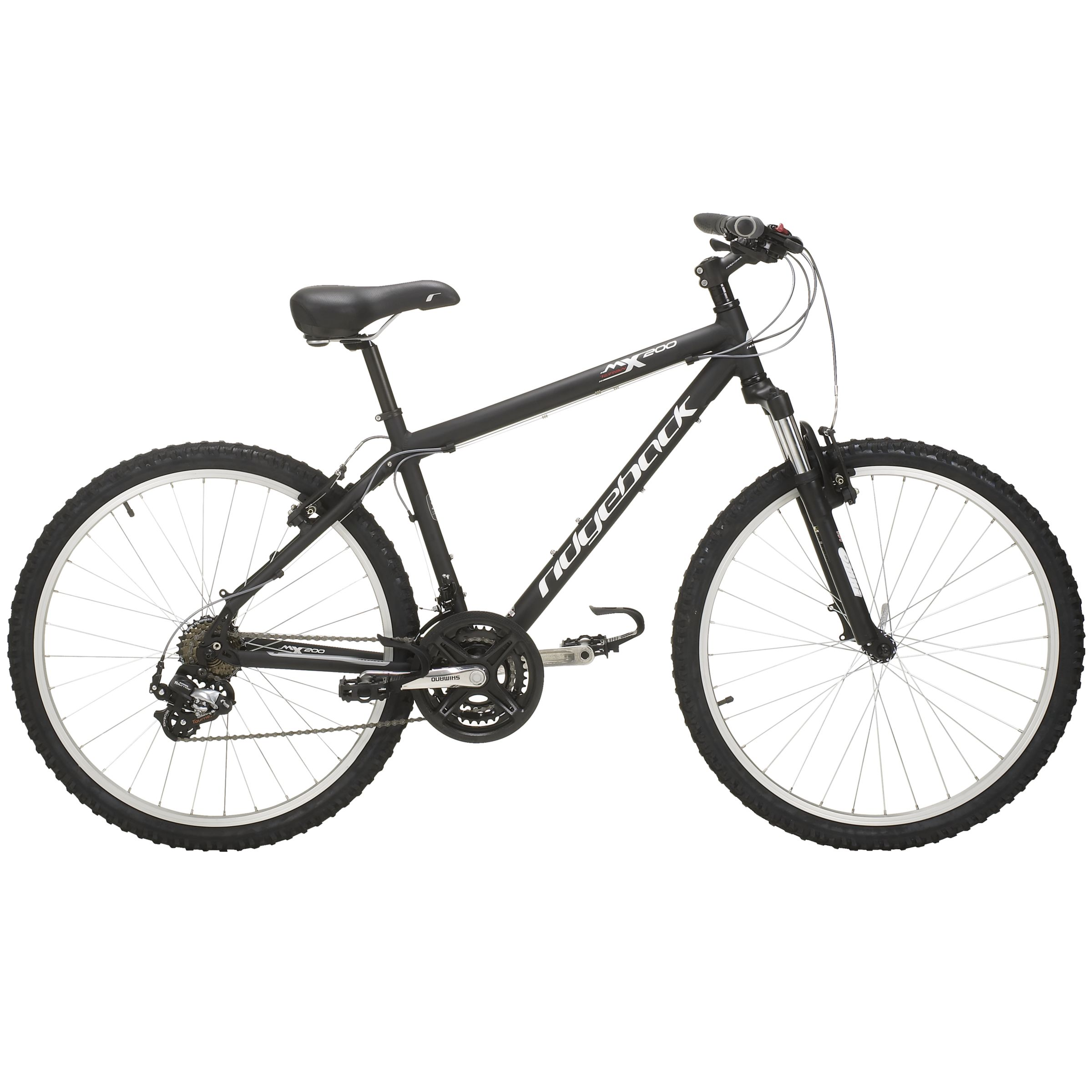 MX200 Mens Mountain Bike, Black