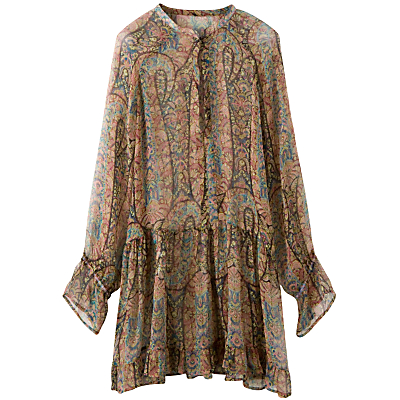 Buy 0039 Italy Drop Waist Paisley Print Tunic, Multicoloured online at JohnLewis.com - John Lewis