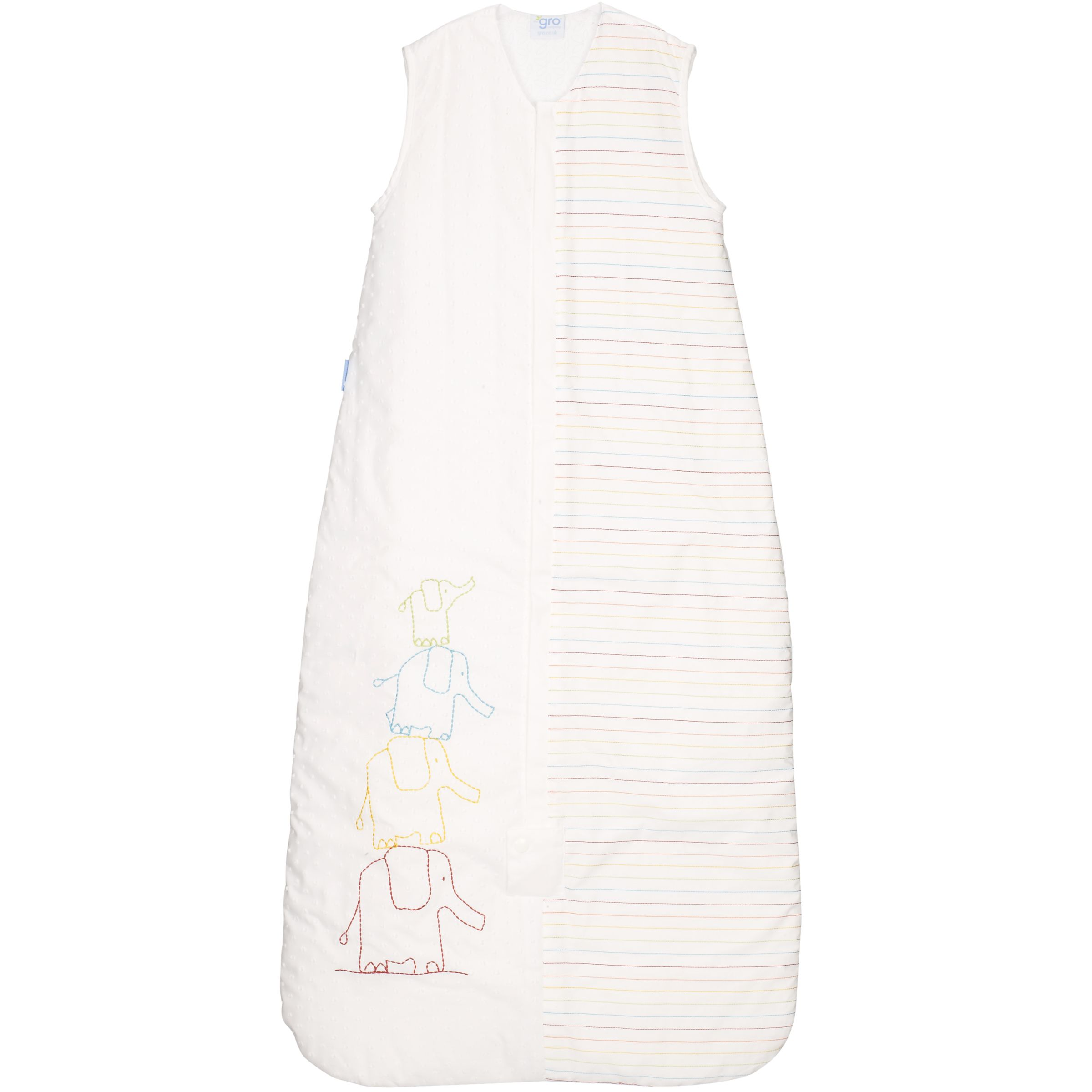 Grand Day Out Sleeping Bag, 2.5 Tog, White