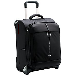 Delsey Fiber Lite Trolley Case, Black, Large