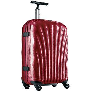 Samsonite Cosmolite Spinner Trolley Cases, Red, Small