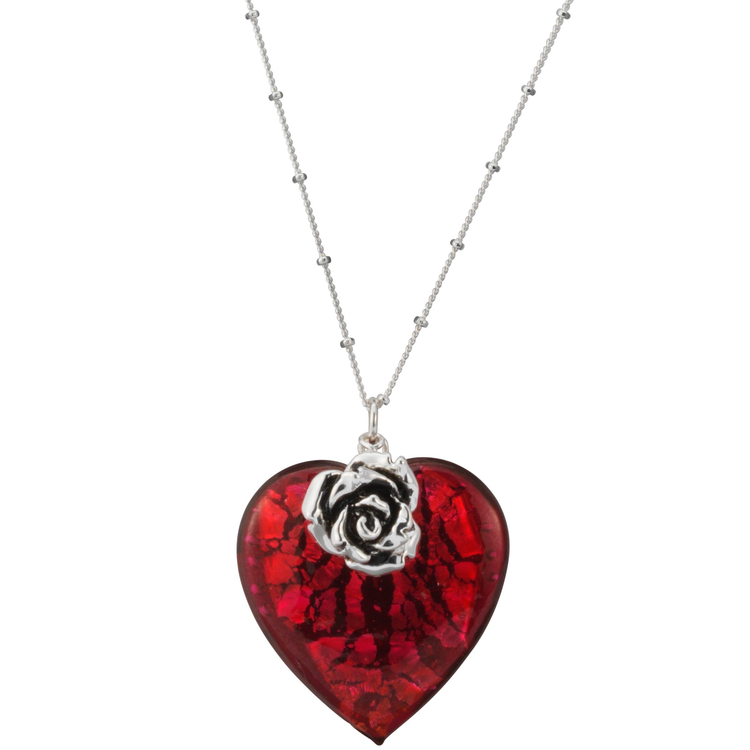 Martick Jewellery Bohemian Glass Heart Necklace