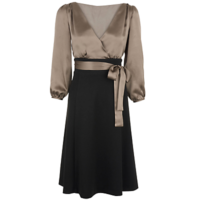 Buy Phase Eight Belinda Dress, Brown/Praline online at JohnLewis.com - John Lewis
