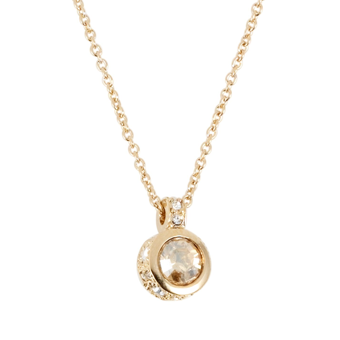 Cachet Brilliant Gold Pendant Necklace