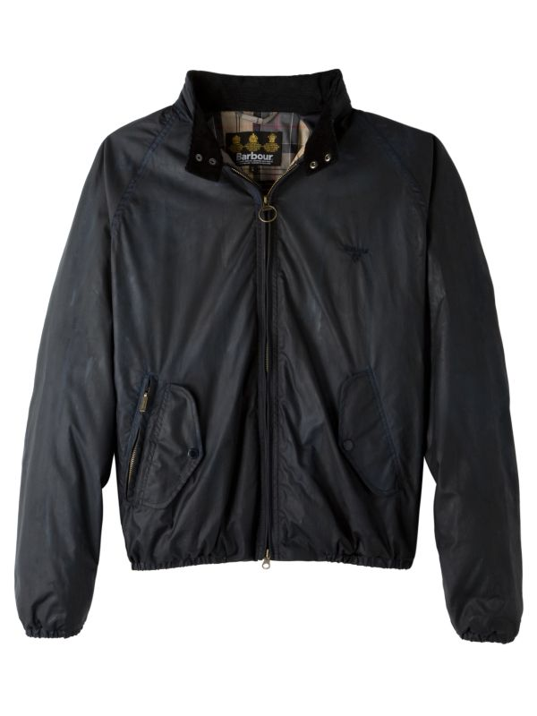 Barbour Harrington Cotton Jacket, Navy
