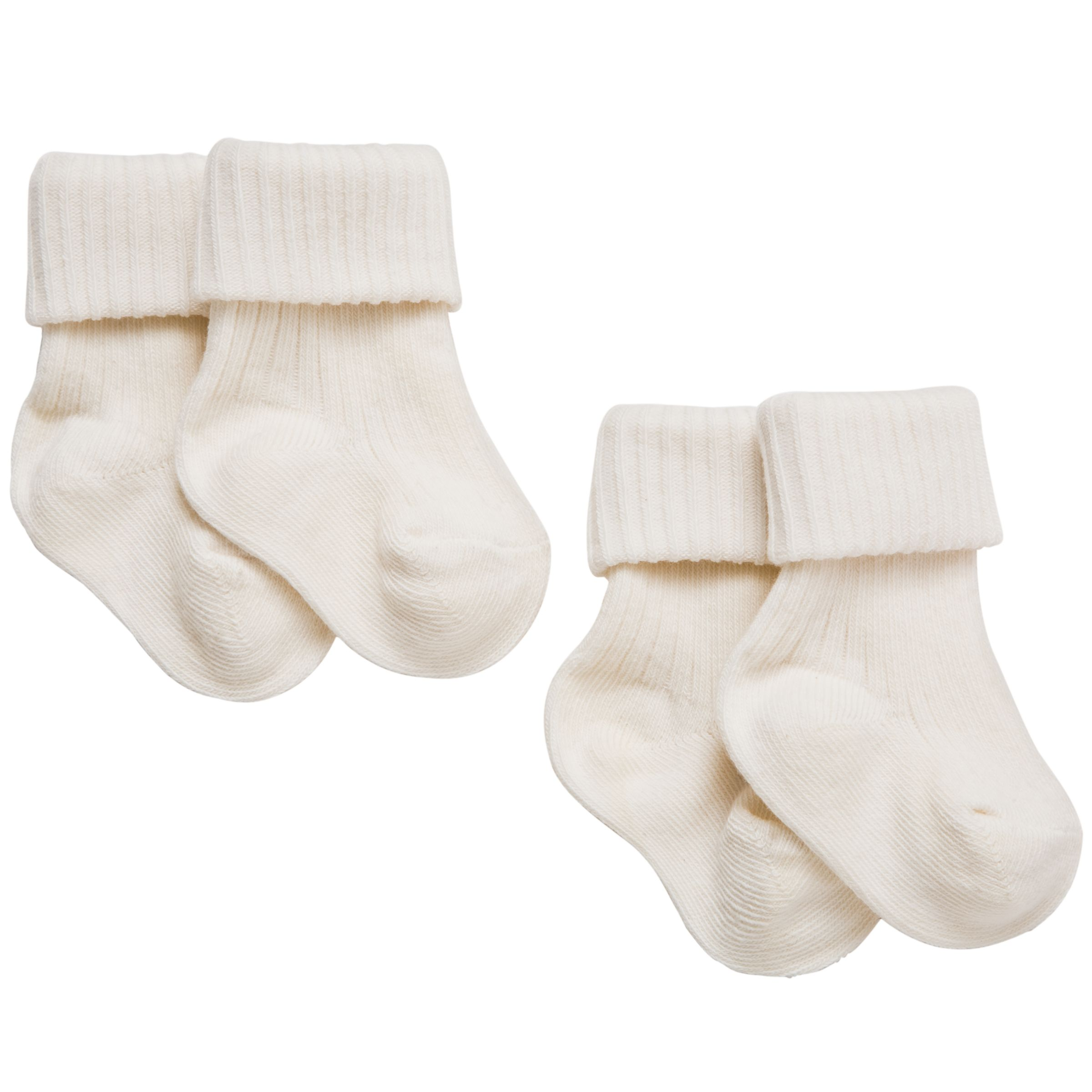 John Lewis Baby Organic Cotton Socks