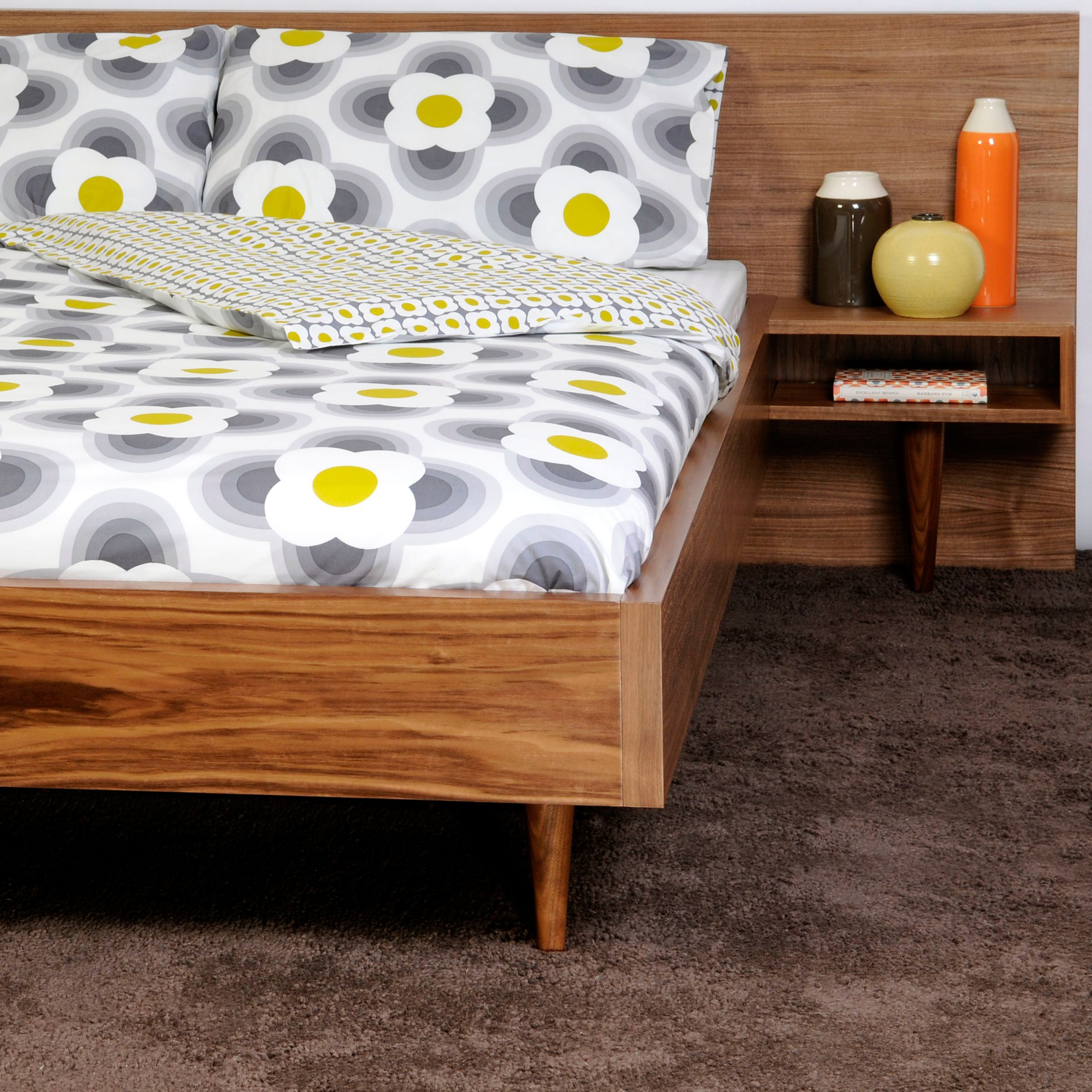 Orla kiely cars single duvet cover