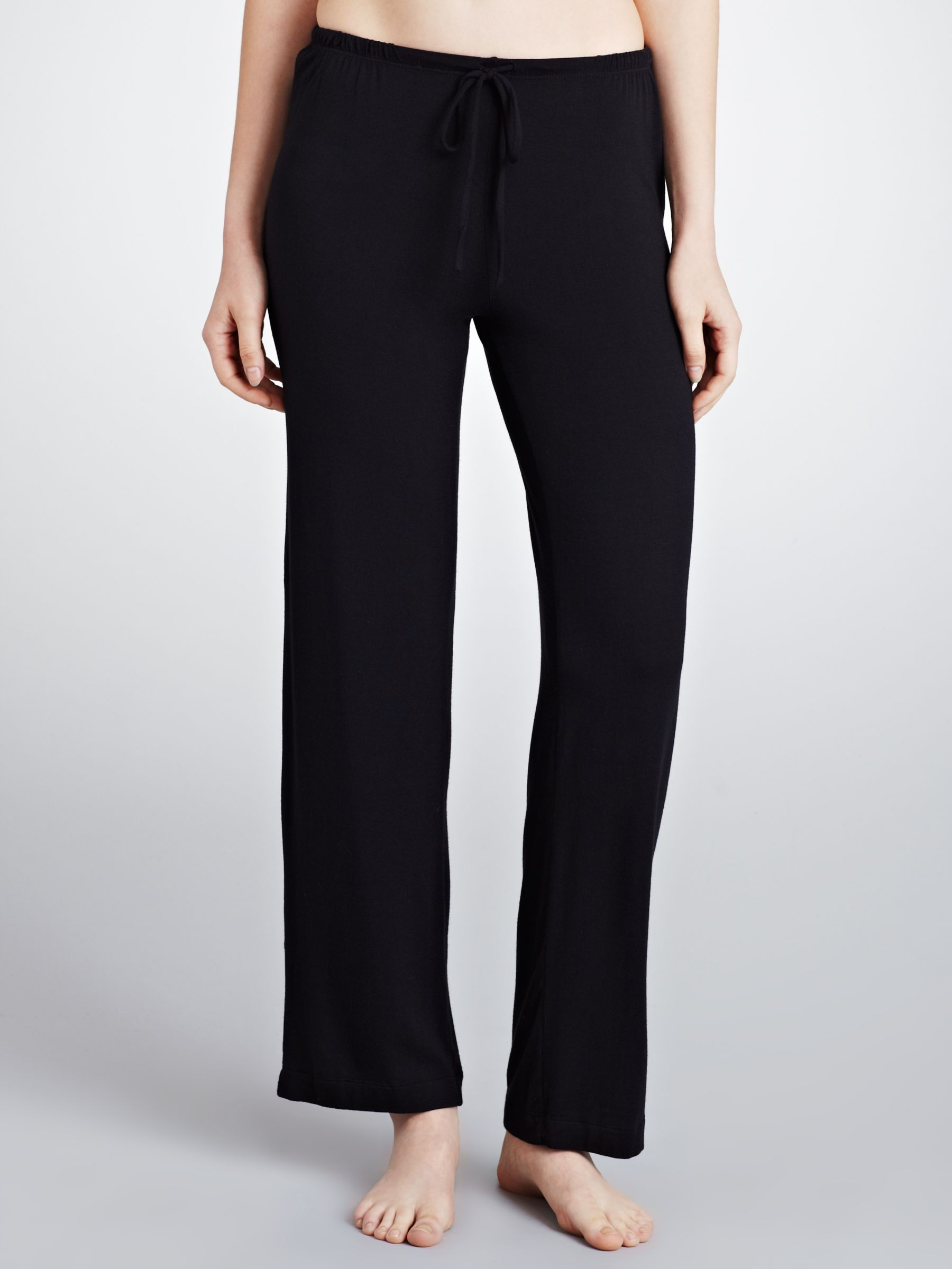 DKNY Seven Easy Pieces Drawstring Pyjama Trousers, Black