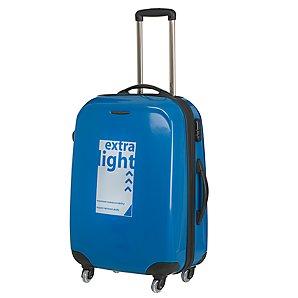 John Lewis Fuji Lite Trolley Cases, Blue, Large