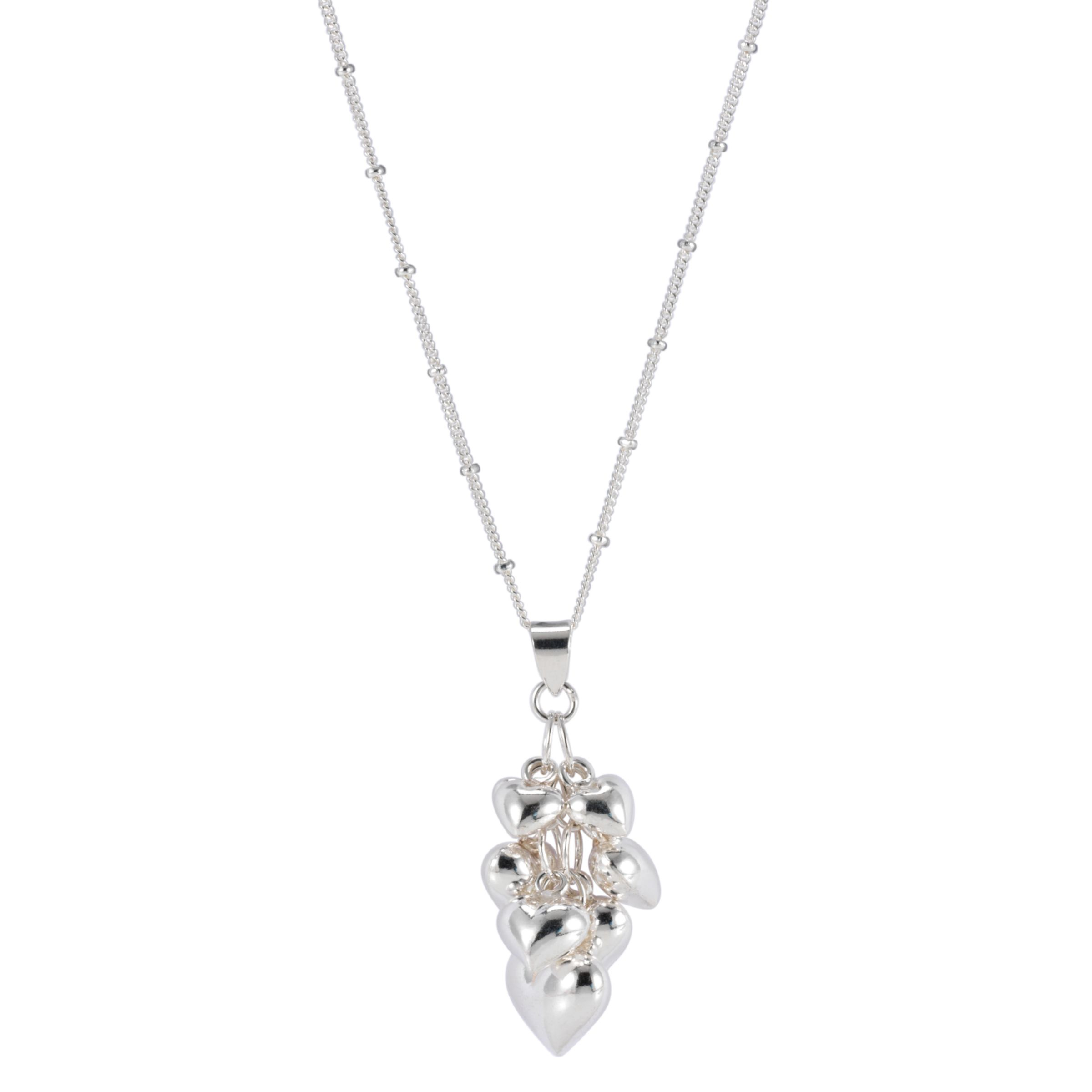 Martick Multi-Heart Pendant Necklace