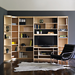 John Lewis Agatha Home Office Furniture, Maple