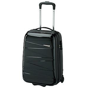 Antler Pleats Trolley Cases, Black, S