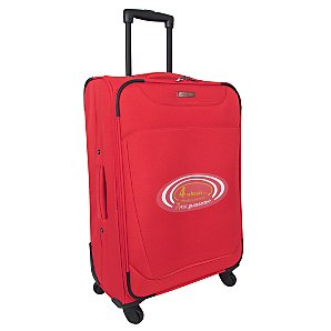 Revelation by Antler 4-Wheel Trolley Case, Red, Medium