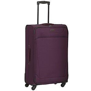 Revelation by Antler 4-Wheel Trolley Case, Purple, Large