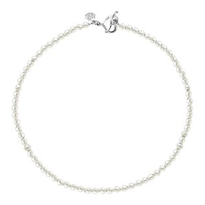Dower & Hall White Freshwater Pearl Necklace