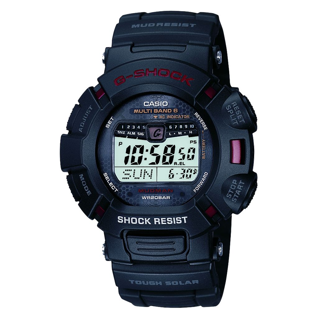 Casio GW-9010-1ER G-Shock Mudman Radio Controlled Digital Strap Watch
