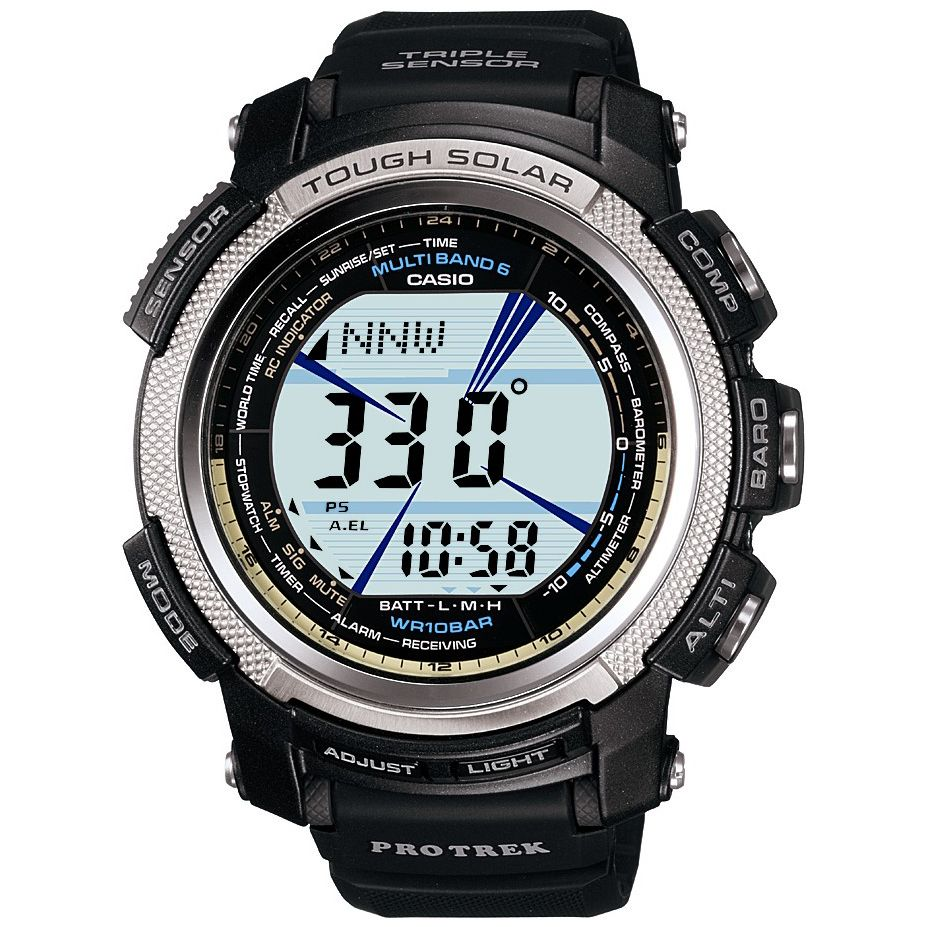 Casio PRW-2000-1ER Pro-Trek Multi Function Digital Strap Watch