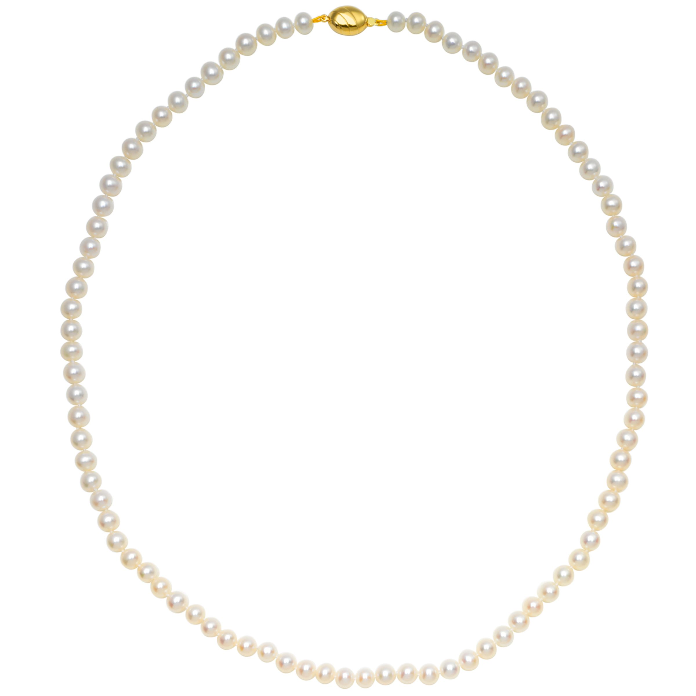 Freshwater Lustre Pearls Knotted 26