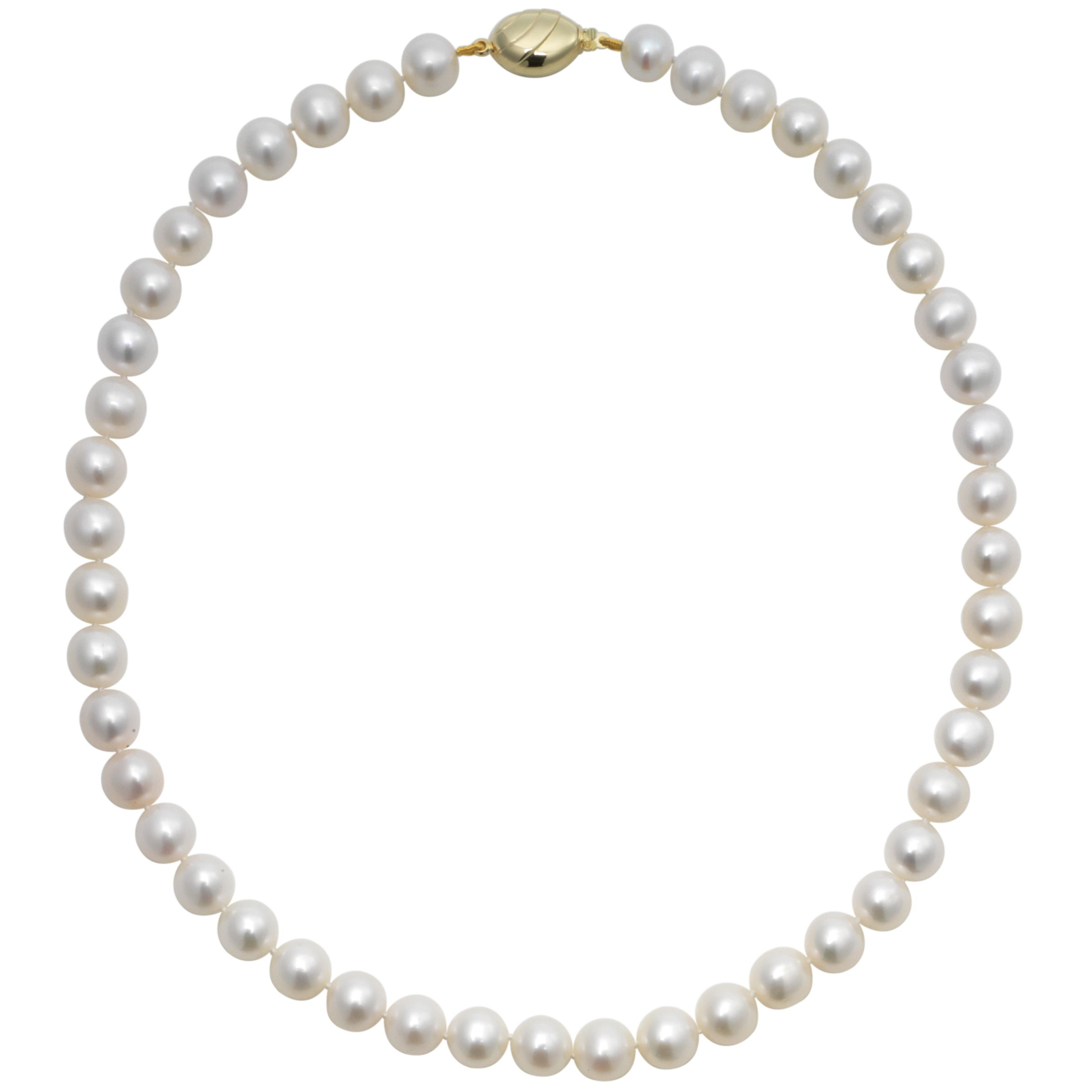 Lustre Freshwater Cultured Pearls Knotted 18