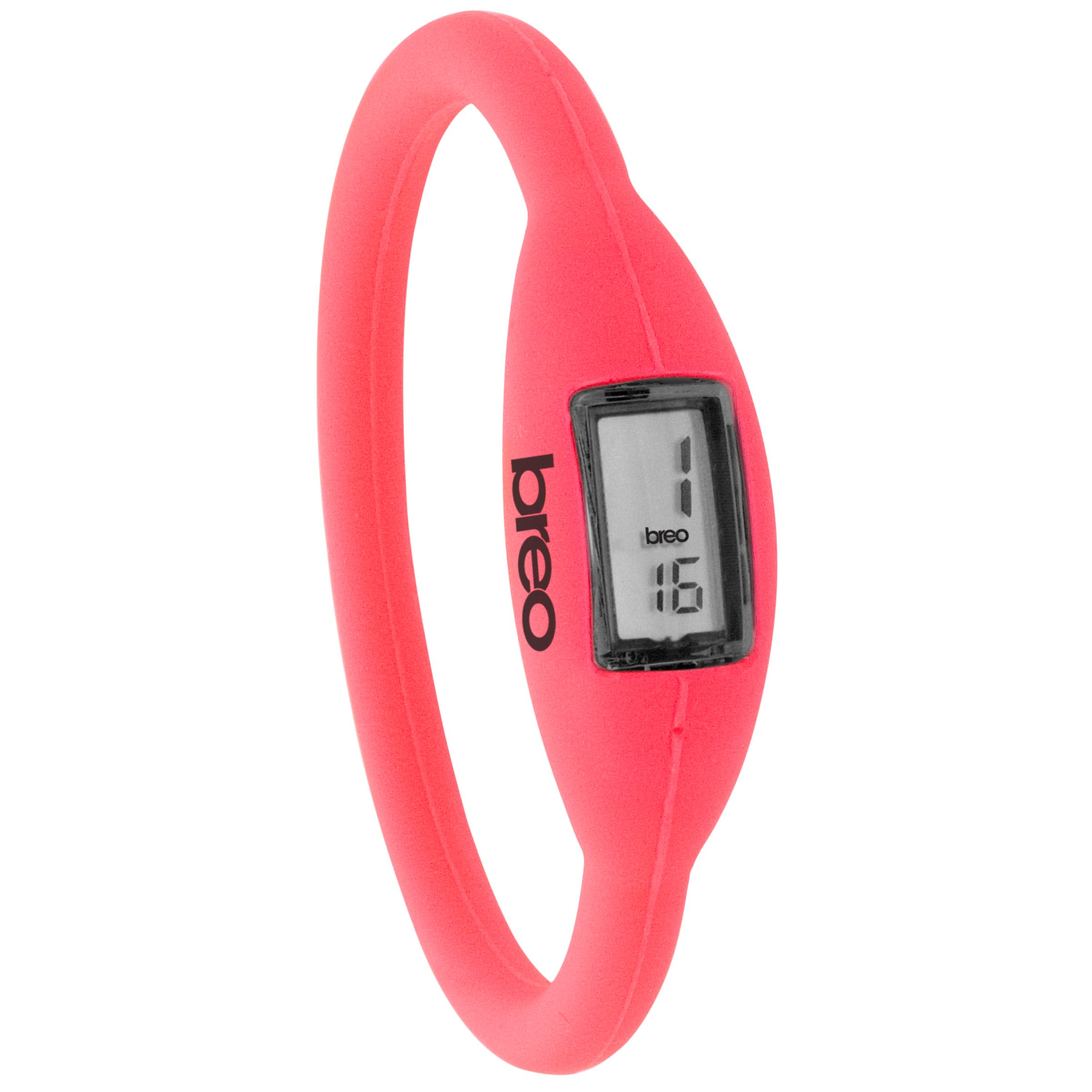 Breo Roam B-TI-NR3 Digital Watch, Fluro Pink