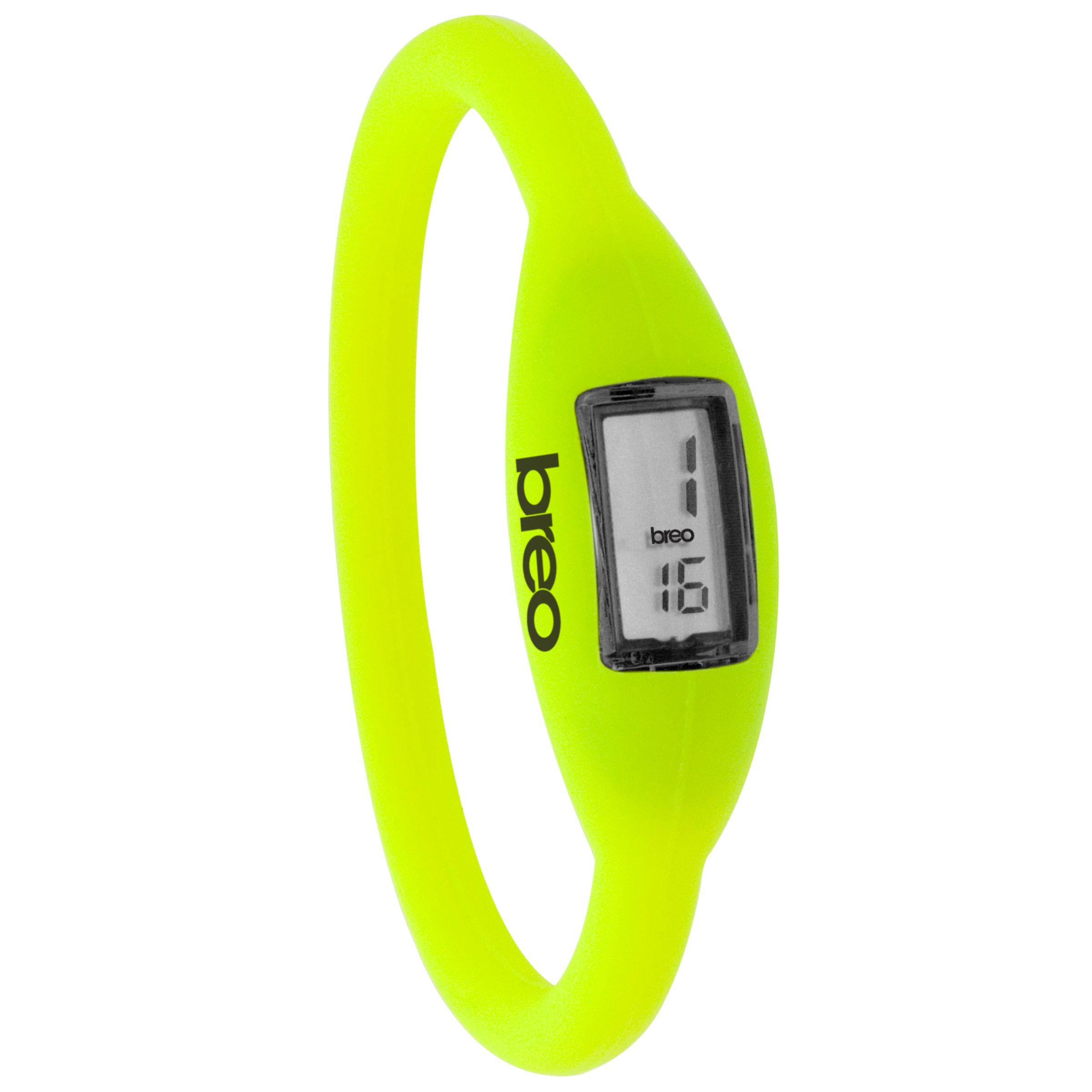 Breo Roam B-TI-NR6 Digital Watch, Fluro Yellow