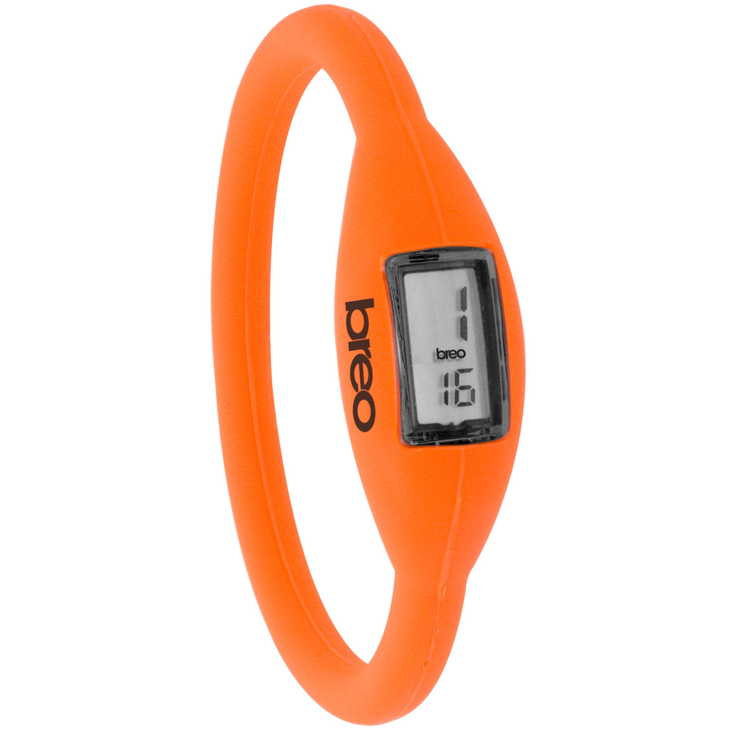 Breo Roam B-TI-NR1 Digital Watch, Fluro Orange