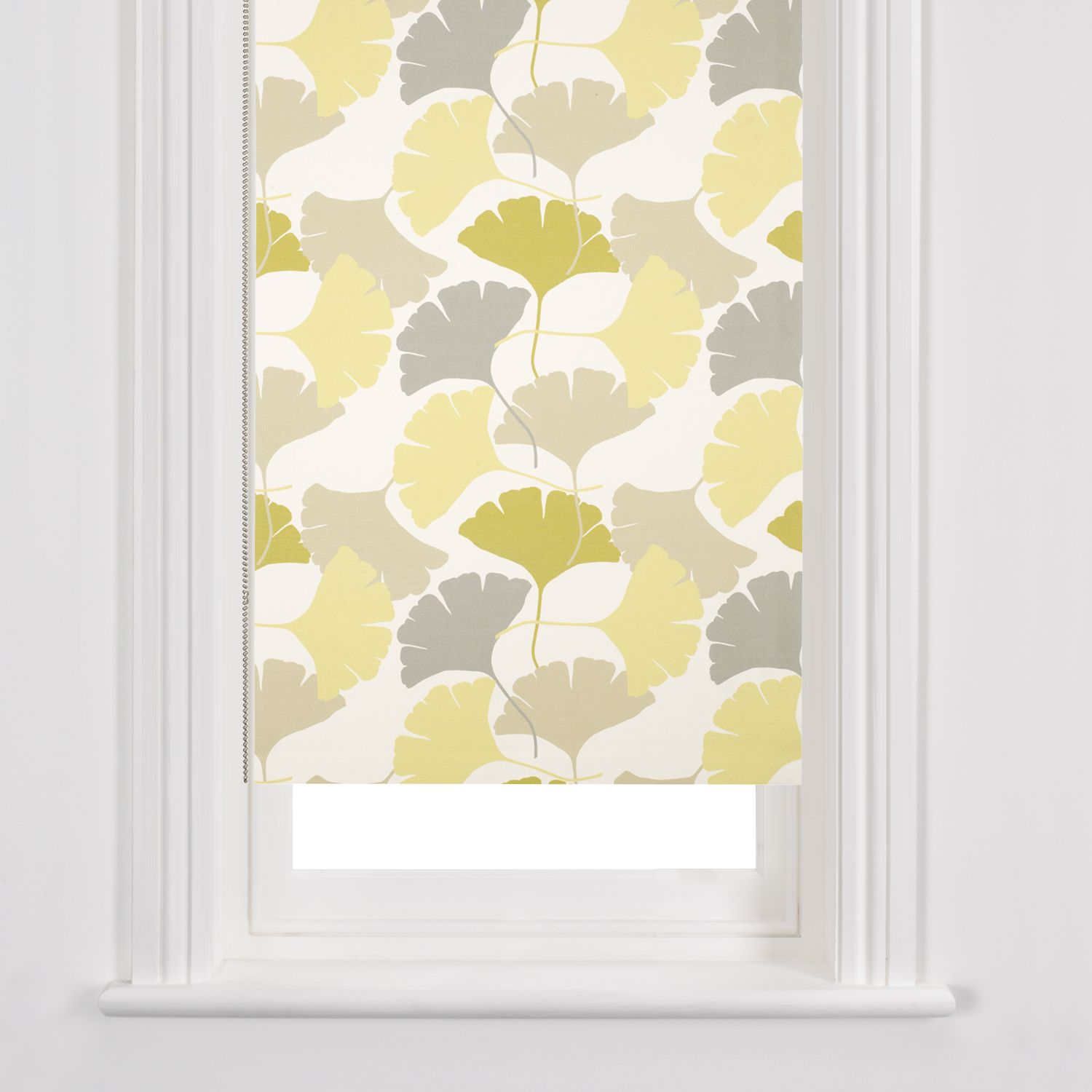 John Lewis Gingko Forage Roller Blinds, Green