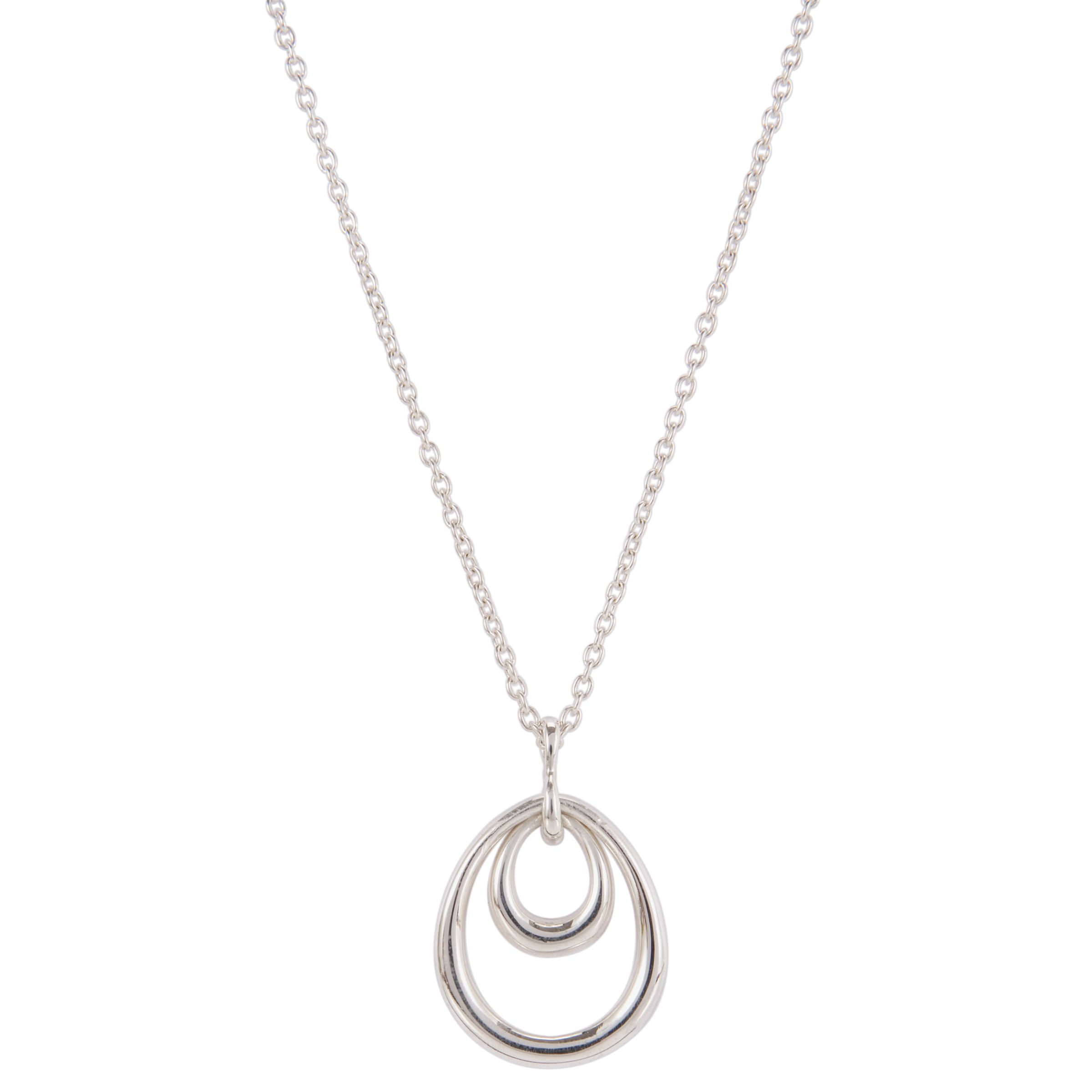Dinny Hall Sterling Silver Small Toro Spanish Pendant Necklace