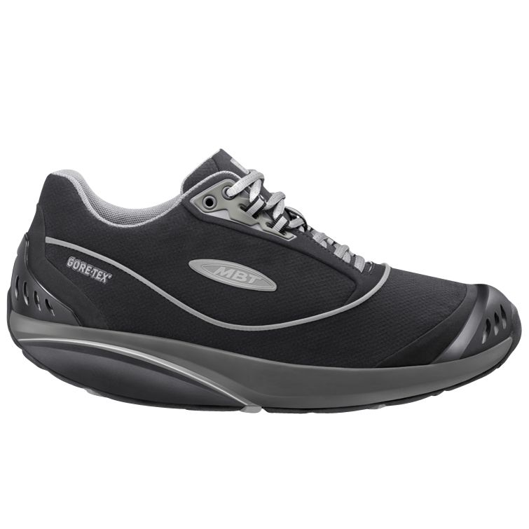MBT Kimondo GTX Men's Shoes, Black at John Lewis