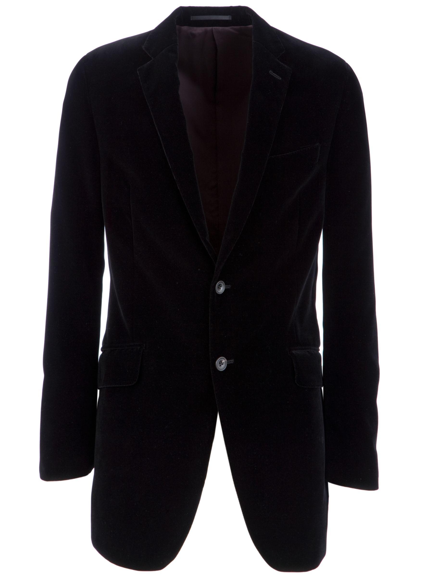 Mayfair Richard James Velvet Jacket, Black at John Lewis