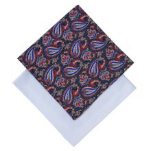 Derek Rose Cotton Handkerchief, Pack of 2, White